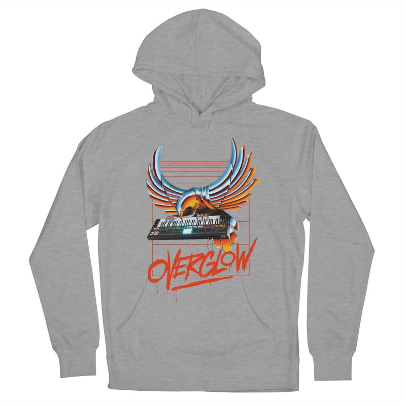 CHROME EAGLE Men's Pullover Hoody by OVERGLOW 80s shop