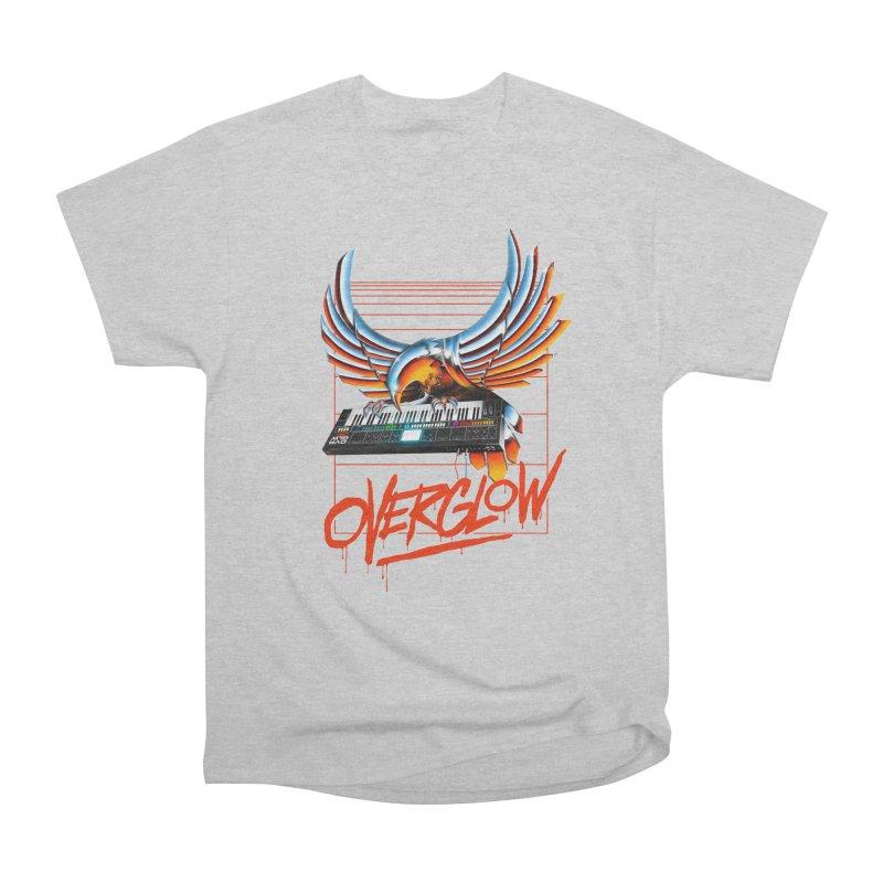 CHROME EAGLE Men's Heavyweight T-Shirt by OVERGLOW 80s shop