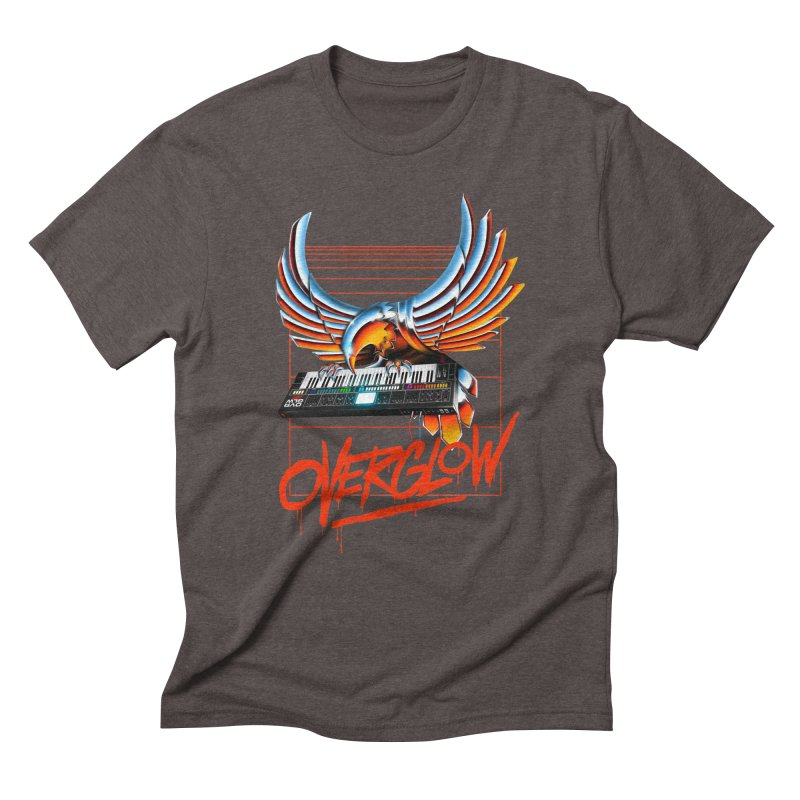 CHROME EAGLE Men's Triblend T-Shirt by OVERGLOW 80s shop
