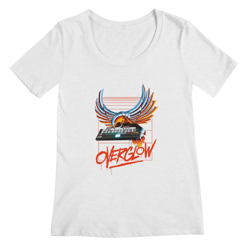 CHROME EAGLE Women's Regular Scoop Neck by OVERGLOW 80s shop