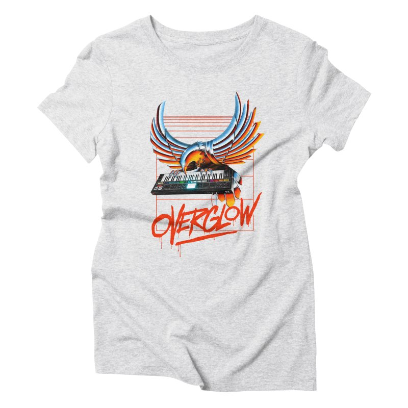 CHROME EAGLE Women's Triblend T-Shirt by OVERGLOW 80s shop