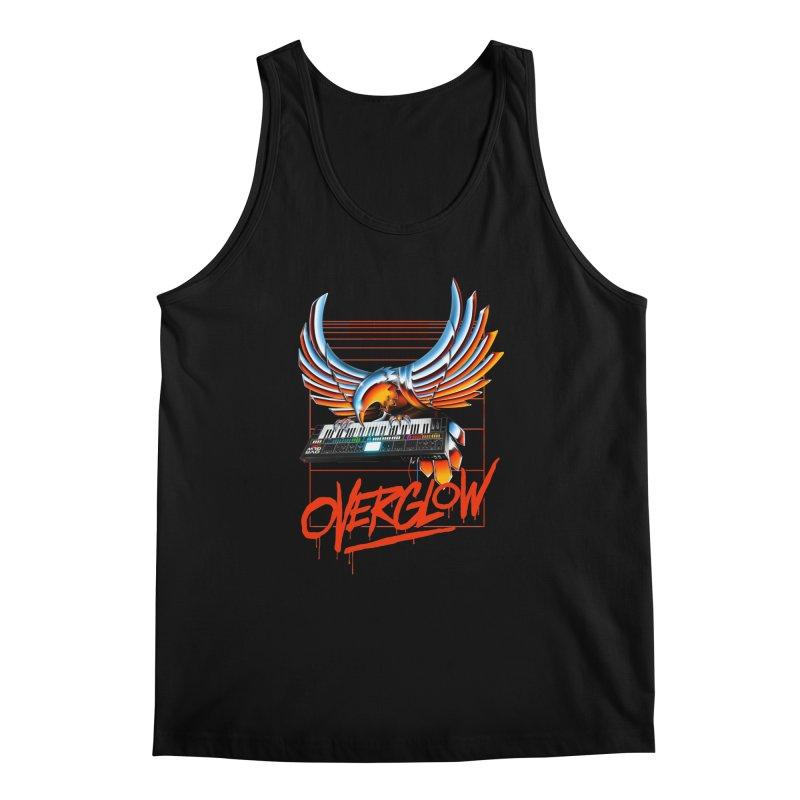 CHROME EAGLE Men's Regular Tank by OVERGLOW 80s shop