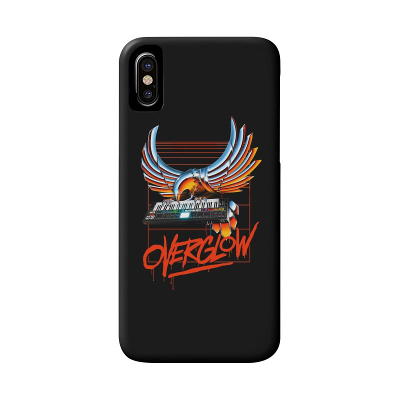 CHROME EAGLE Accessories Phone Case by OVERGLOW 80s shop