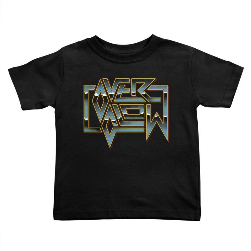 HEAVY METAL Kids Toddler T-Shirt by OVERGLOW 80s shop