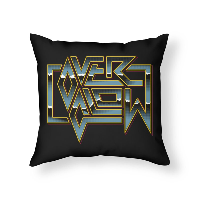 HEAVY METAL Home Throw Pillow by OVERGLOW 80s shop