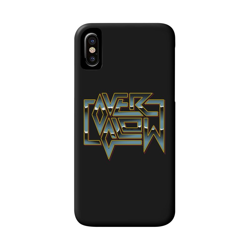 HEAVY METAL Accessories Phone Case by OVERGLOW 80s shop