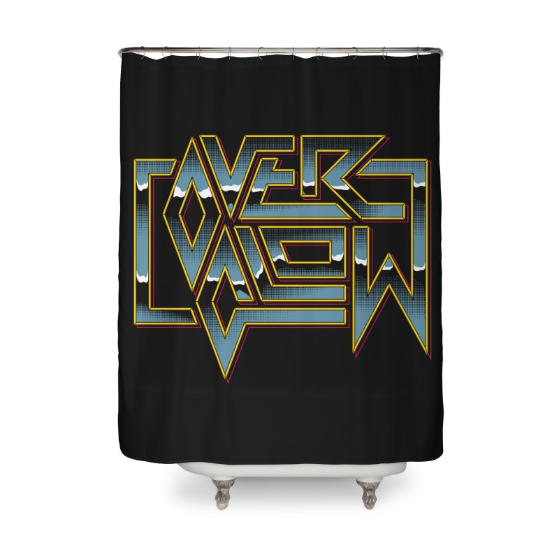 HEAVY METAL Home Shower Curtain by OVERGLOW 80s shop
