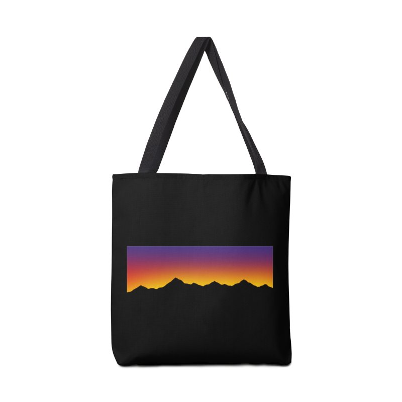 GRADIENT SUNSET Accessories Bag by OVERGLOW 80s shop