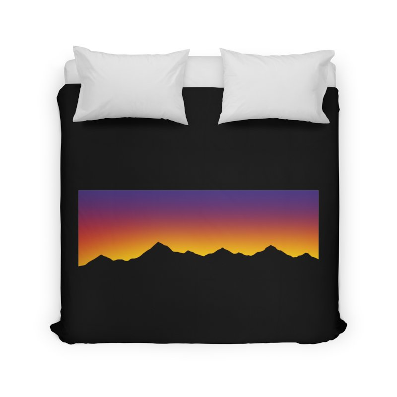 GRADIENT SUNSET Home Duvet by OVERGLOW 80s shop