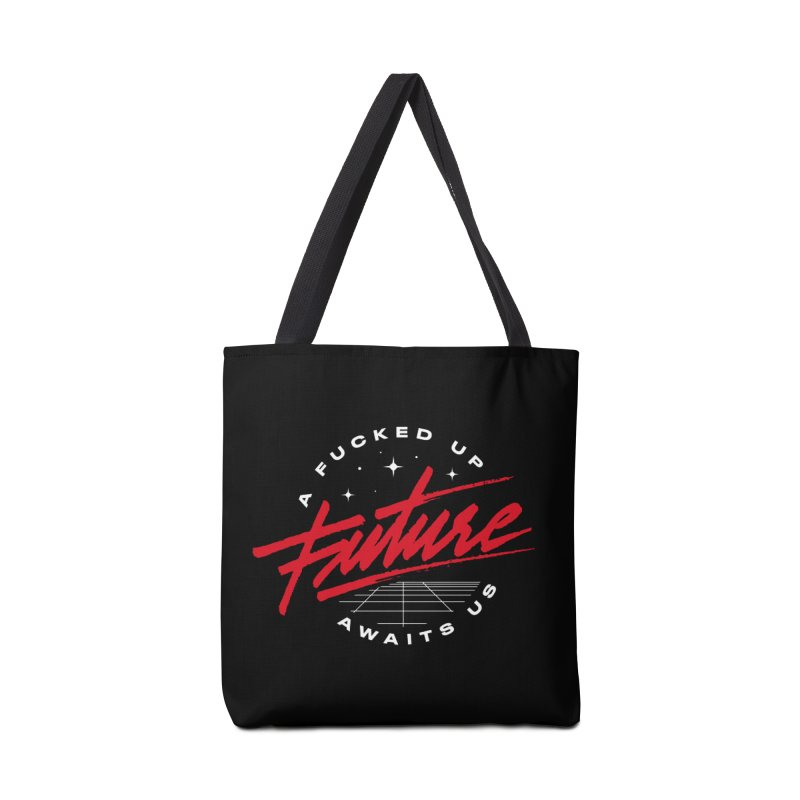 F-UP FUTURE RED Accessories Bag by OVERGLOW 80s shop