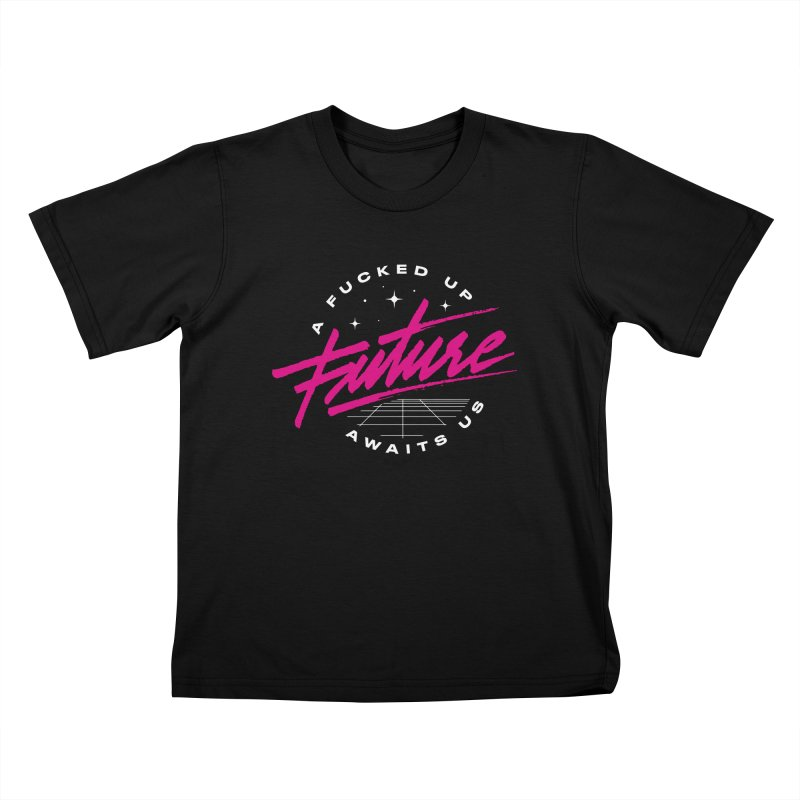 F-UP FUTURE PINK Kids T-Shirt by OVERGLOW 80s shop