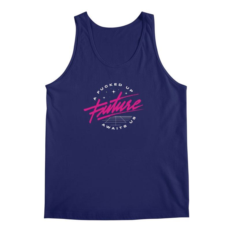 F-UP FUTURE PINK Men's Tank by OVERGLOW 80s shop