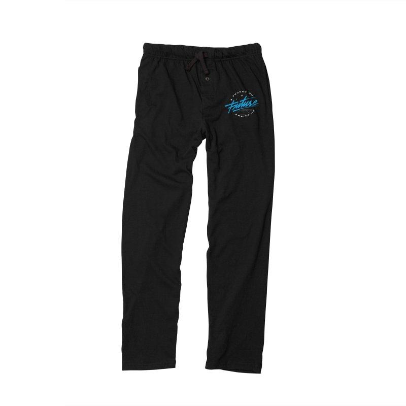 F-UP FUTURE BLUE Men's Lounge Pants by OVERGLOW 80s shop
