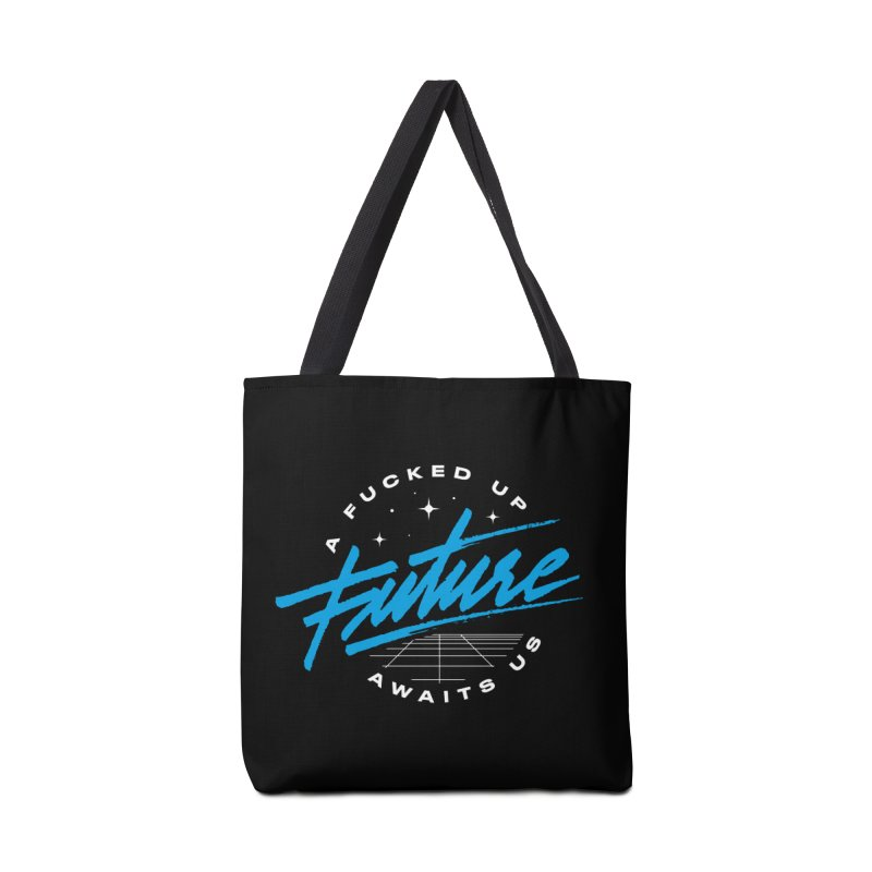 F-UP FUTURE BLUE Accessories Bag by OVERGLOW 80s shop