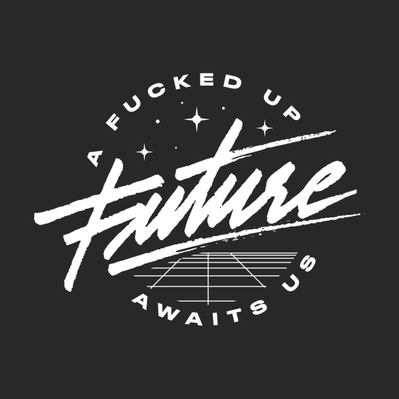 F-U FUTURE WHITE (special) by OVERGLOW 80s shop