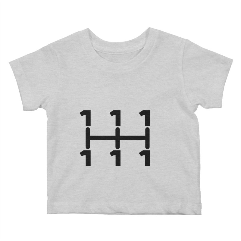 Two Speeds - Slow and Stopped Kids Baby T-Shirt by OR designs