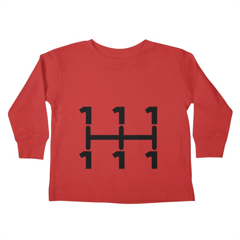 Two Speeds - Slow and Stopped Kids Toddler Longsleeve T-Shirt by OR designs