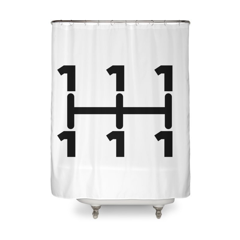 Two Speeds - Slow and Stopped Home Shower Curtain by OR designs