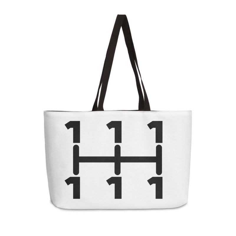 Two Speeds - Slow and Stopped Accessories Bag by OR designs