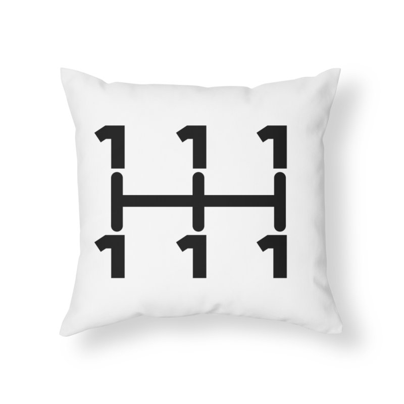 Two Speeds - Slow and Stopped Home Throw Pillow by OR designs