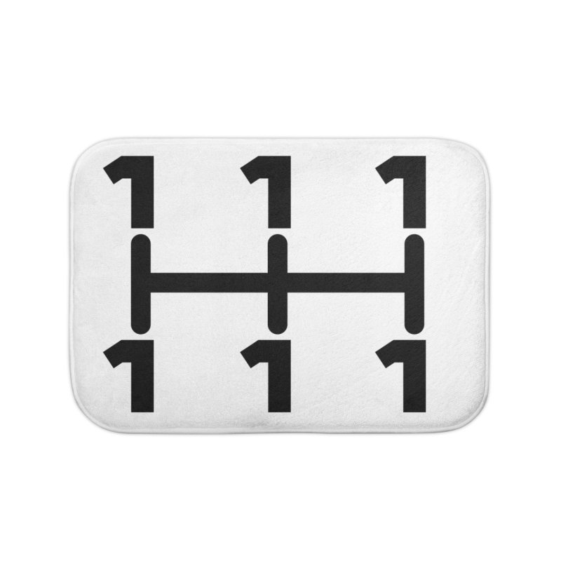 Two Speeds - Slow and Stopped Home Bath Mat by OR designs