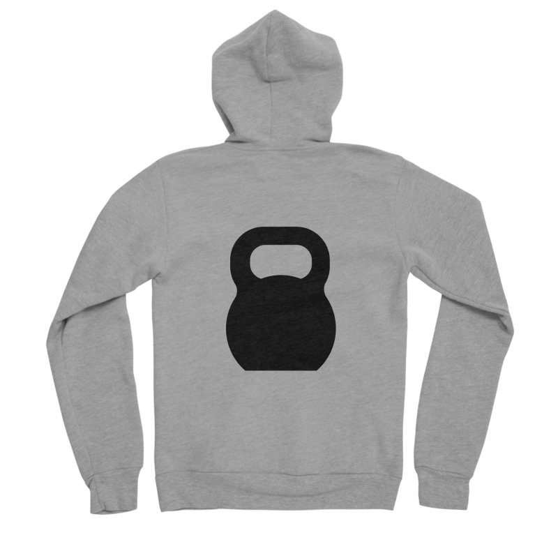Kettlebell Women's Sponge Fleece Zip-Up Hoody by OR designs