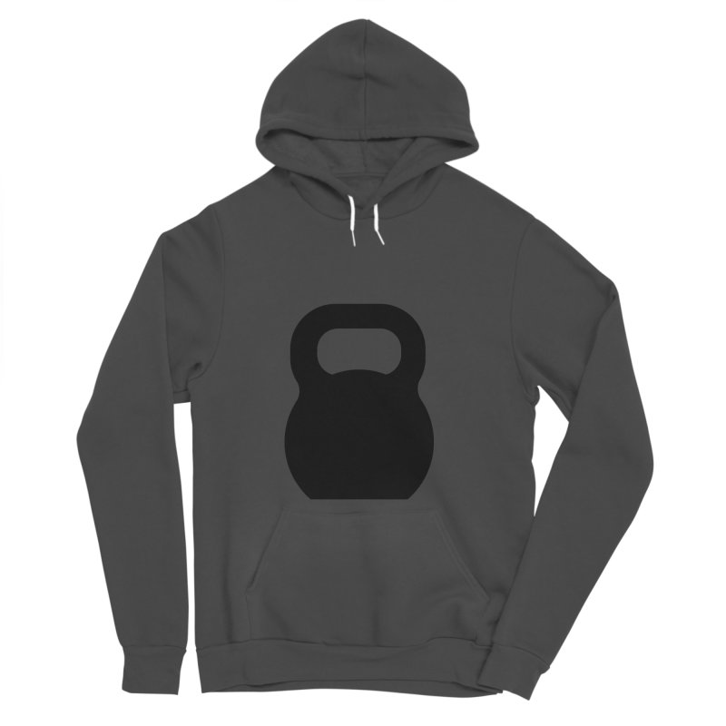Kettlebell Women's Sponge Fleece Pullover Hoody by OR designs