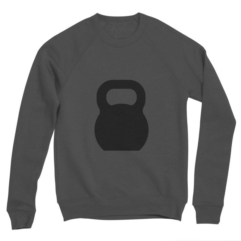 Kettlebell Women's Sponge Fleece Sweatshirt by OR designs