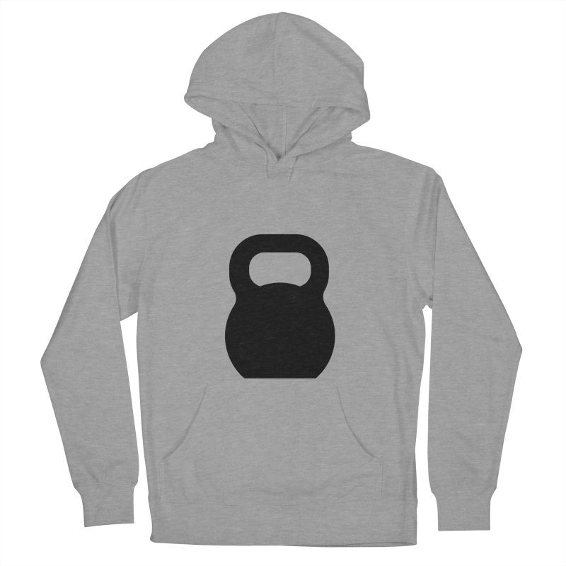 Kettlebell Men's French Terry Pullover Hoody by OR designs