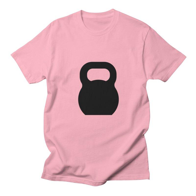 Kettlebell Men's Regular T-Shirt by OR designs