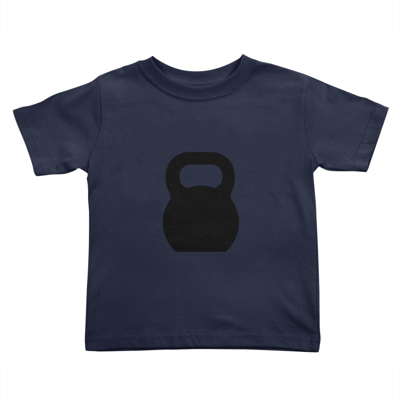 Kettlebell Kids Toddler T-Shirt by OR designs