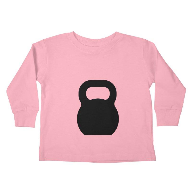 Kettlebell Kids Toddler Longsleeve T-Shirt by OR designs