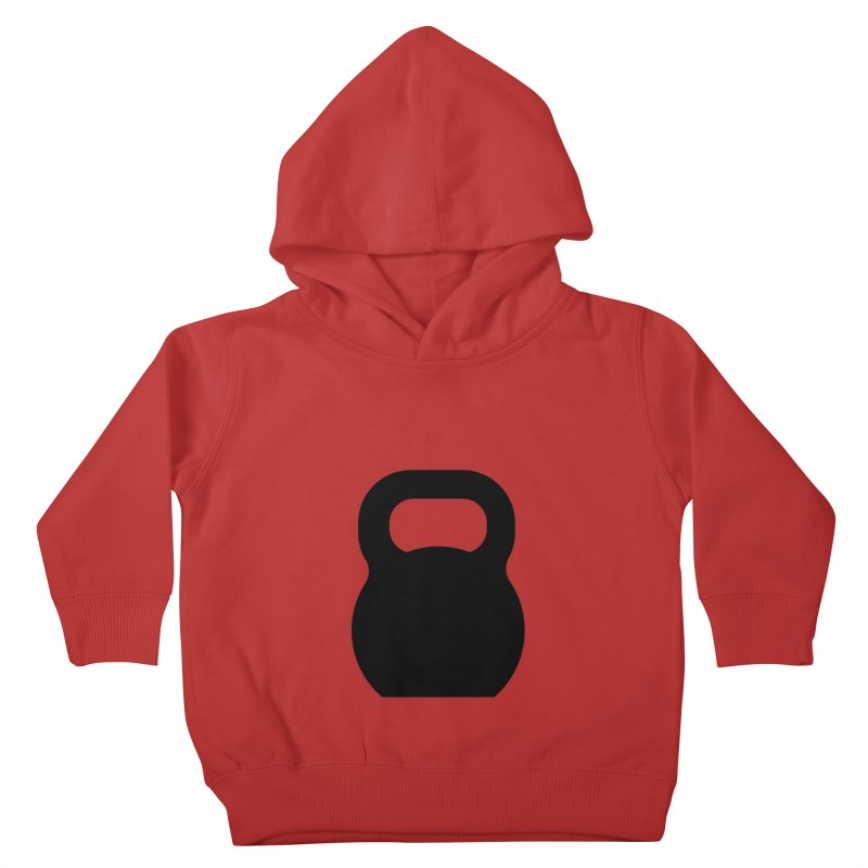 Kettlebell Kids Toddler Pullover Hoody by OR designs