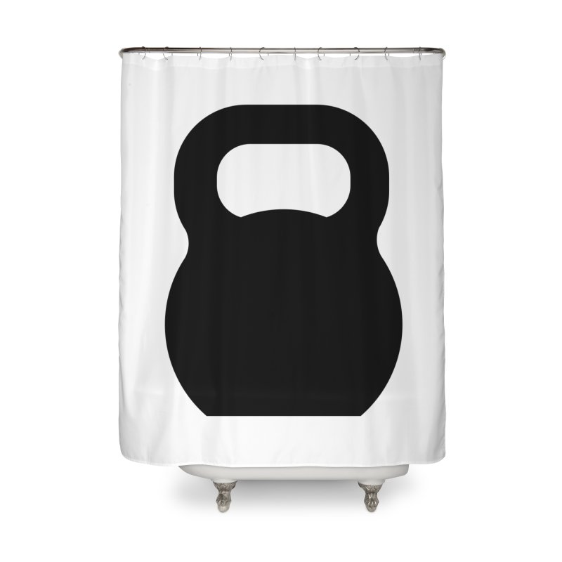 Kettlebell Home Shower Curtain by OR designs