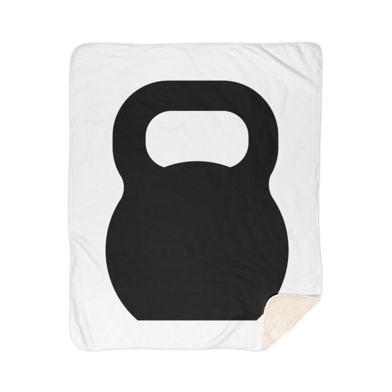 Kettlebell Home Sherpa Blanket Blanket by OR designs