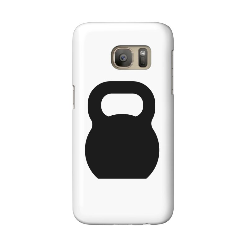 Kettlebell Accessories Phone Case by OR designs