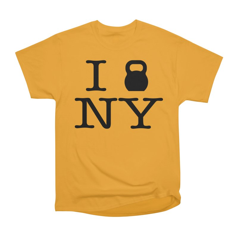 I Kettlebell NY Men's Heavyweight T-Shirt by OR designs