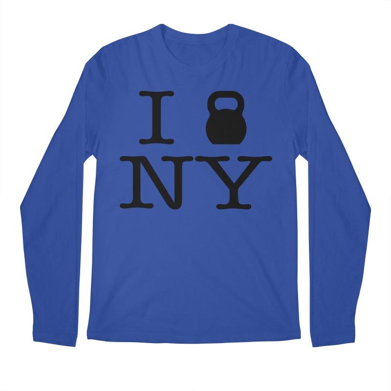 I Kettlebell NY Men's Regular Longsleeve T-Shirt by OR designs