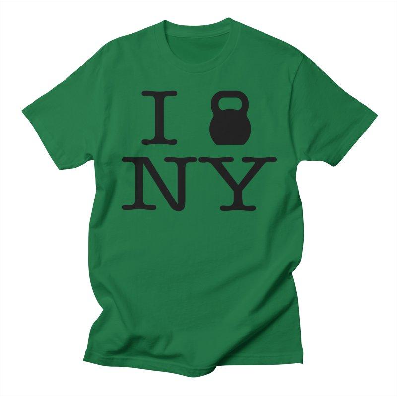 I Kettlebell NY Women's Regular Unisex T-Shirt by OR designs