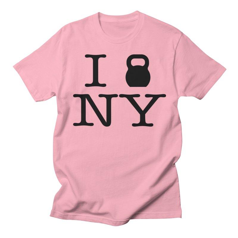 I Kettlebell NY Men's Regular T-Shirt by OR designs