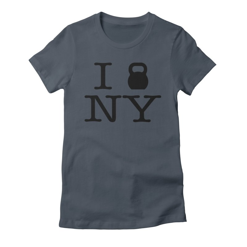 I Kettlebell NY Women's T-Shirt by OR designs