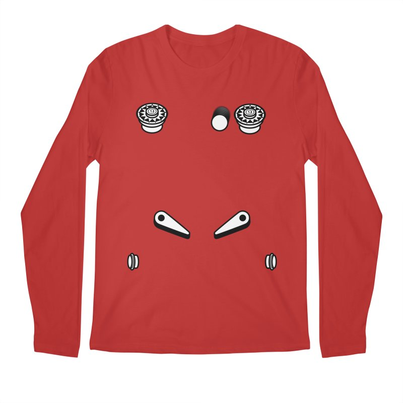 Pinball - What you gonna do? Men's Regular Longsleeve T-Shirt by OR designs