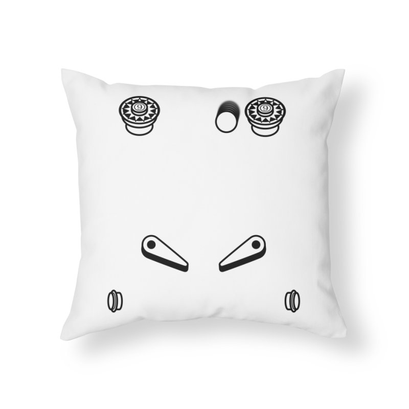 Pinball - What you gonna do? Home Throw Pillow by OR designs