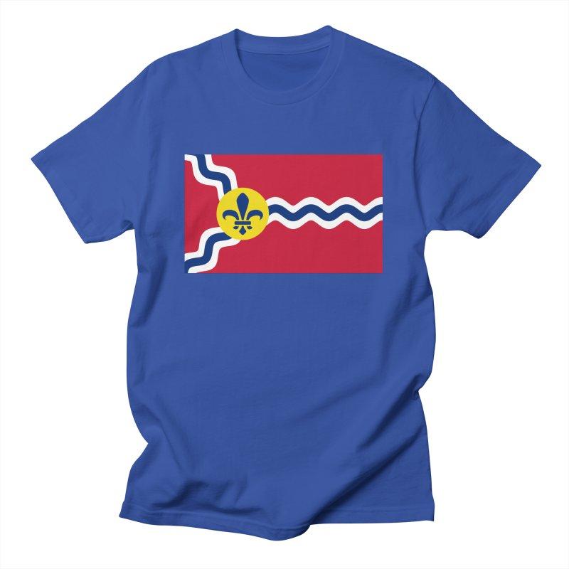 Saint Louis City Flag Men's T-Shirt by OR designs
