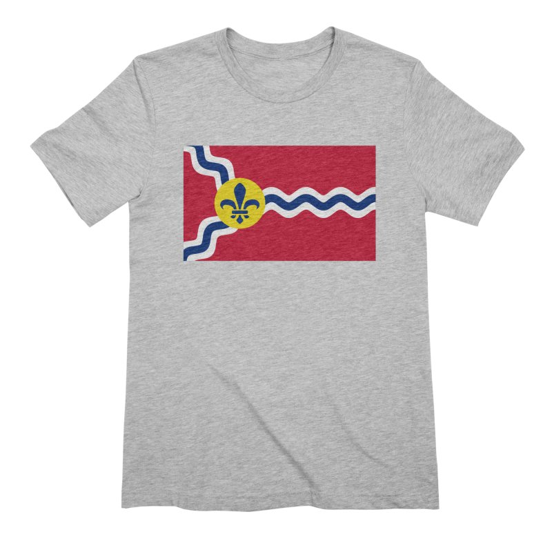 Saint Louis City Flag Men's Extra Soft T-Shirt by OR designs