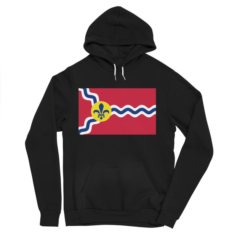 Saint Louis City Flag Women's Sponge Fleece Pullover Hoody by OR designs