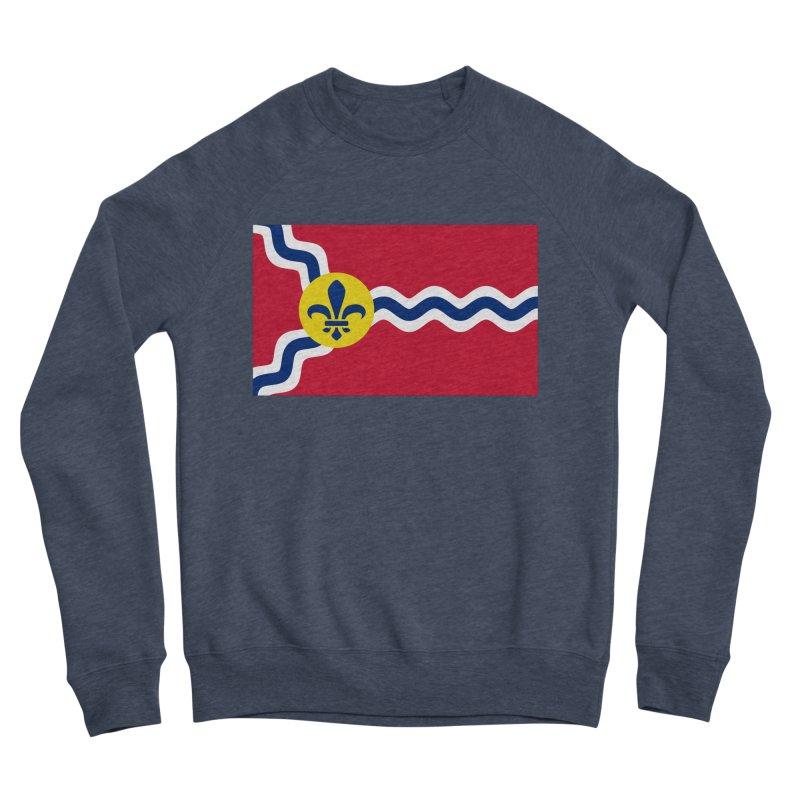 Saint Louis City Flag Women's Sponge Fleece Sweatshirt by OR designs