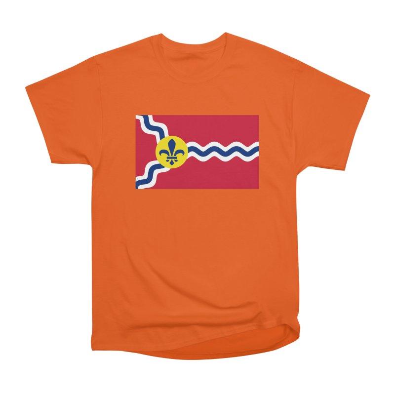 Saint Louis City Flag Men's Heavyweight T-Shirt by OR designs