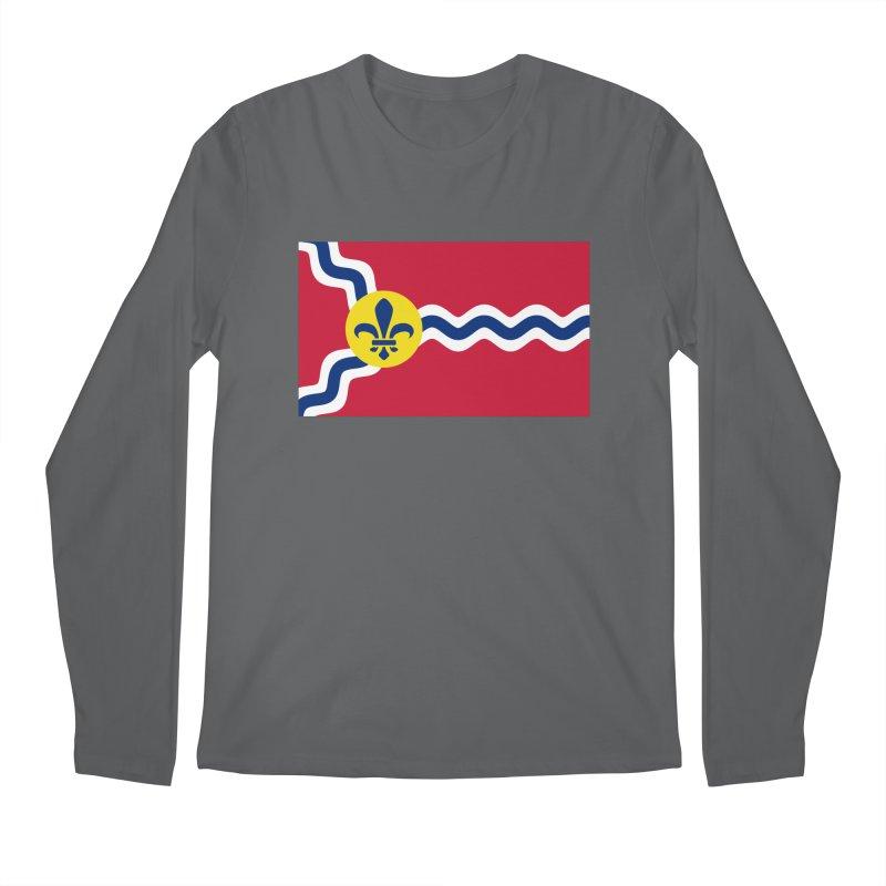 Saint Louis City Flag Men's Longsleeve T-Shirt by OR designs