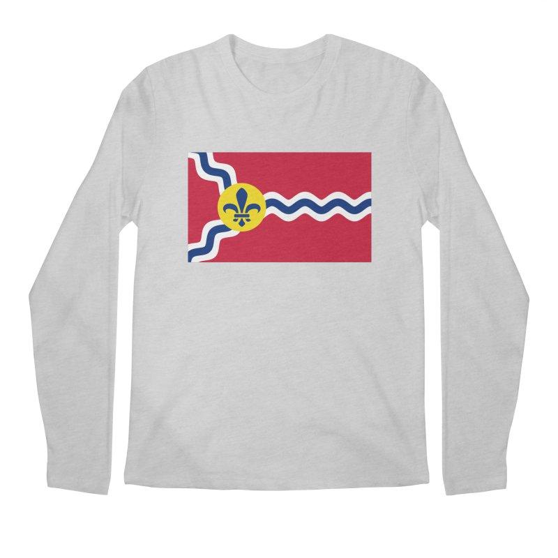 Saint Louis City Flag Men's Regular Longsleeve T-Shirt by OR designs